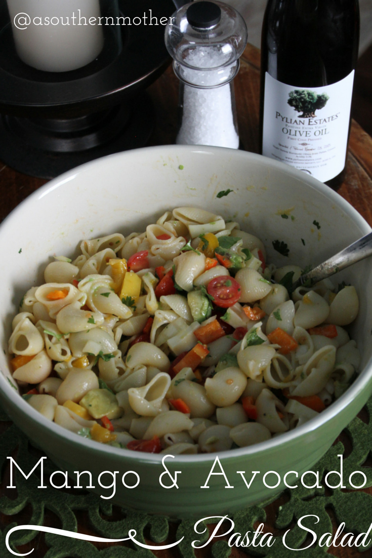 Mango Avocado Pasta Salad Recipe