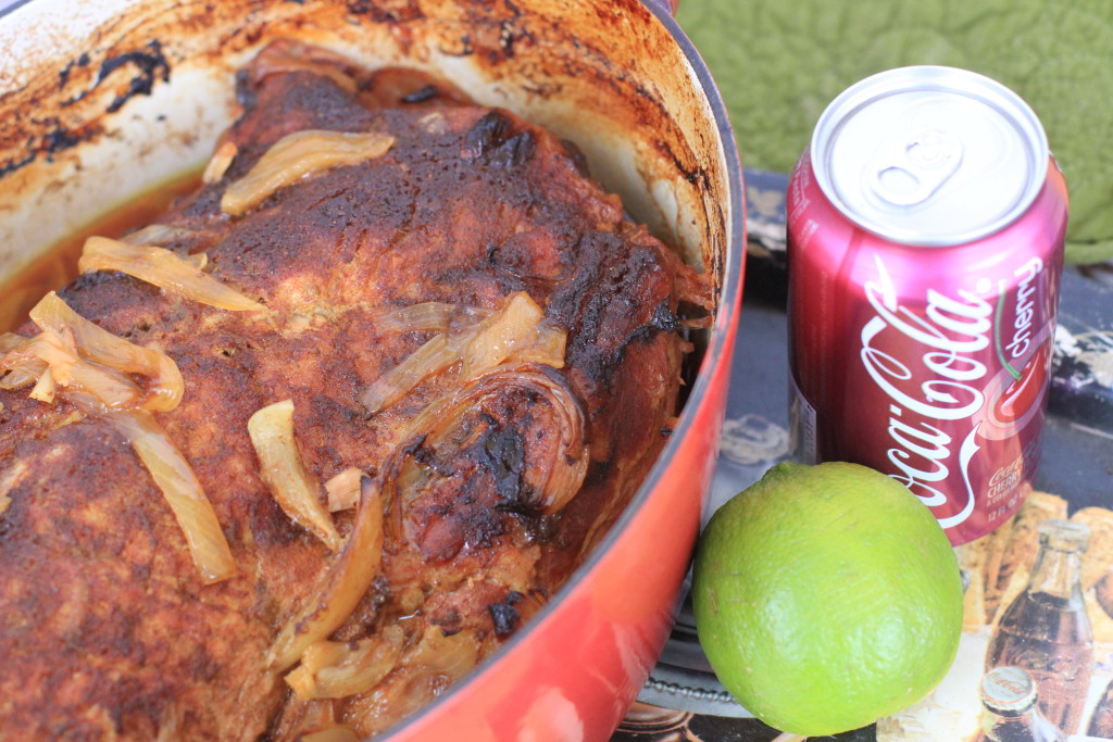 Cherry Coke Pork Loin with Lime