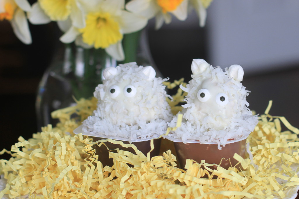 Sheep Pudding Cups
