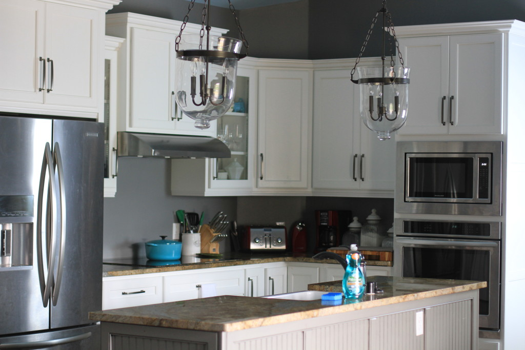 cleaning tips for an open kitchen