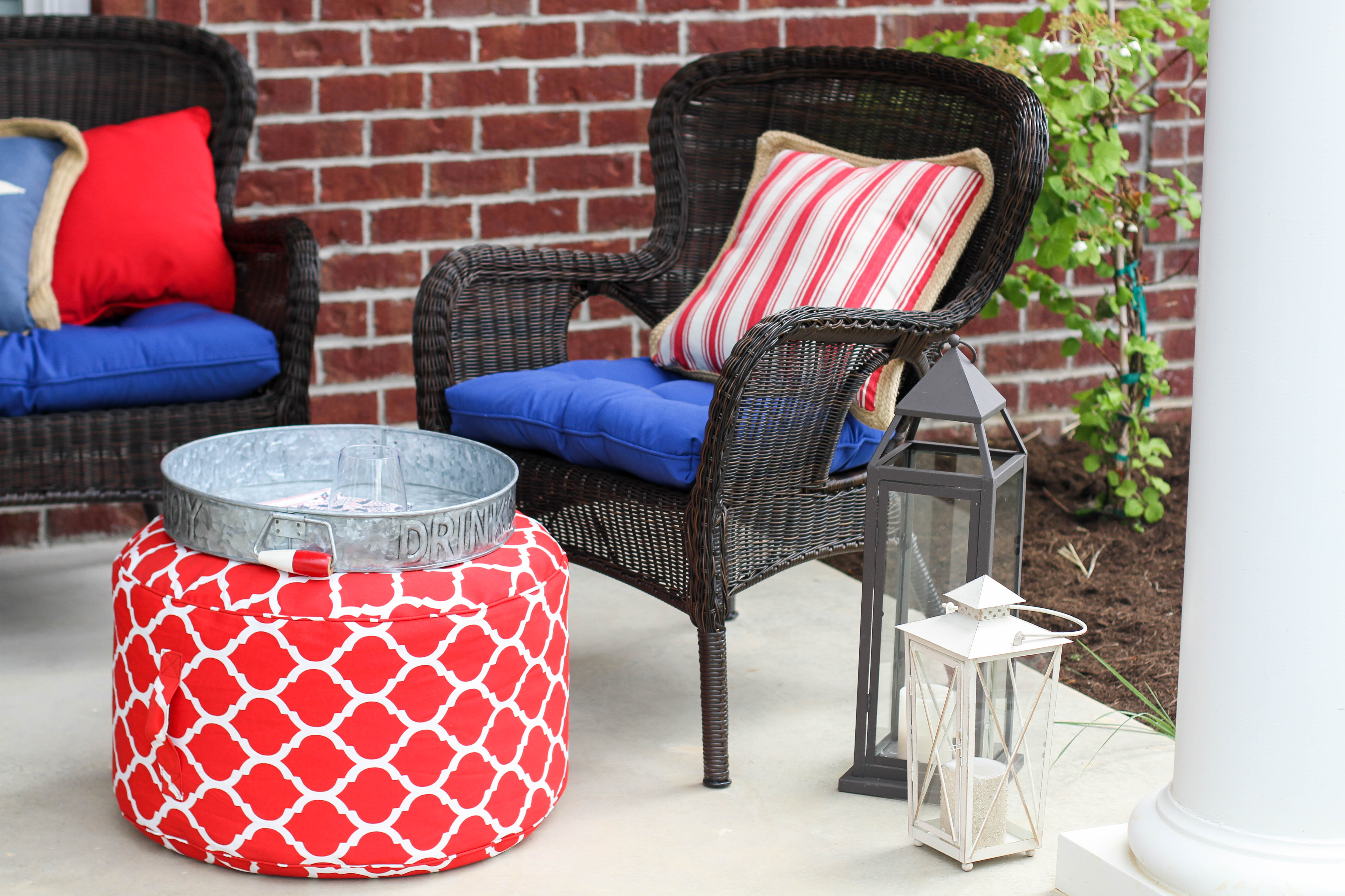 Americana Appeal With Pier Imports Outdoor Living A Southern - Pier 1 outdoor coffee table