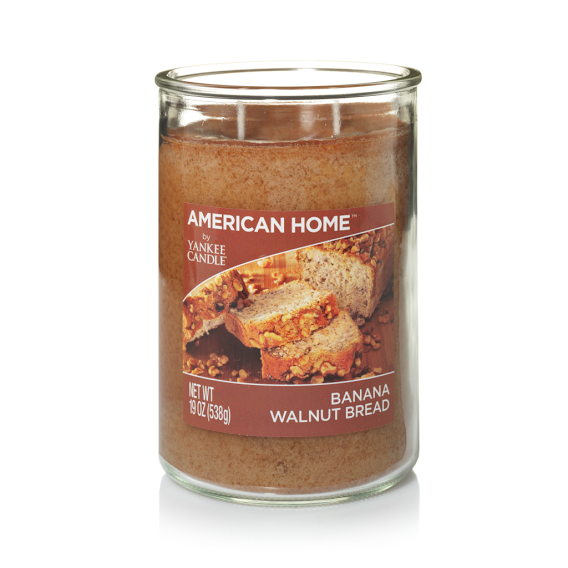 american home by yankee candle Banana Walnut Bread  Large 2-Wick Tumbler Candle