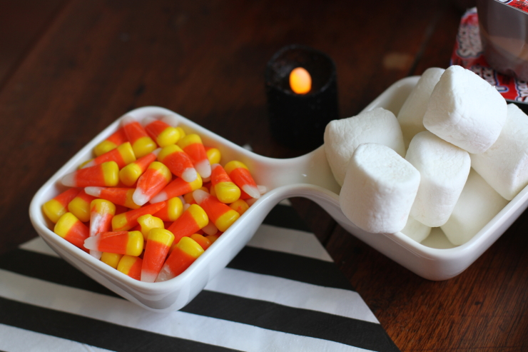 Goulish Halloween Pudding Cups