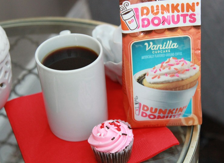 dunkin' donuts vanilla cupcake flavored coffee
