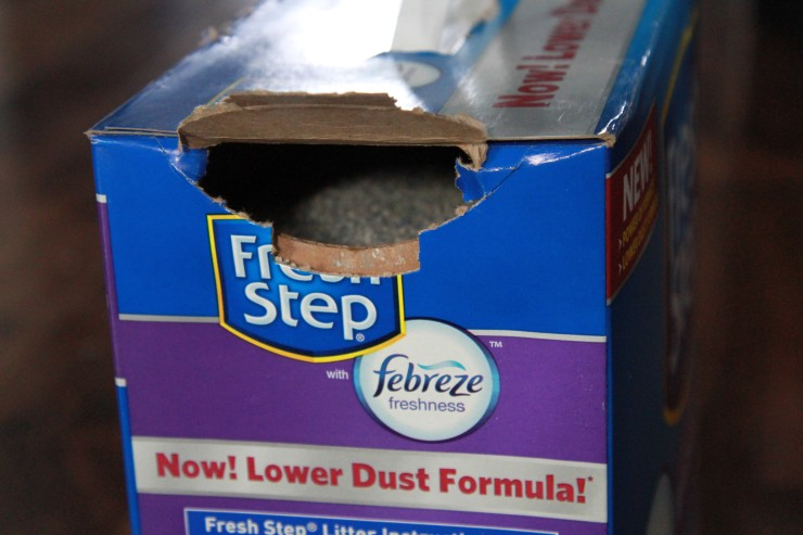 fresh step with febreze