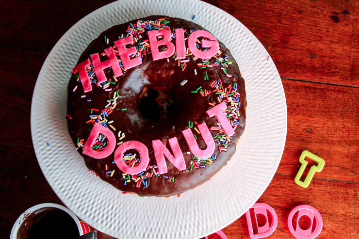 zootopia inspired the big donut cake