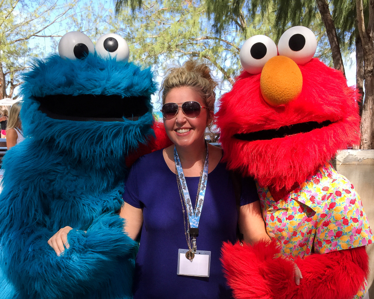 sesame street at beaches resorts