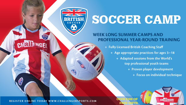 2016 Challenger Sports British Soccer Camps
