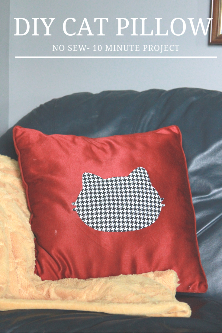 Diy Cat Pillow Tutoriala Southern Mother