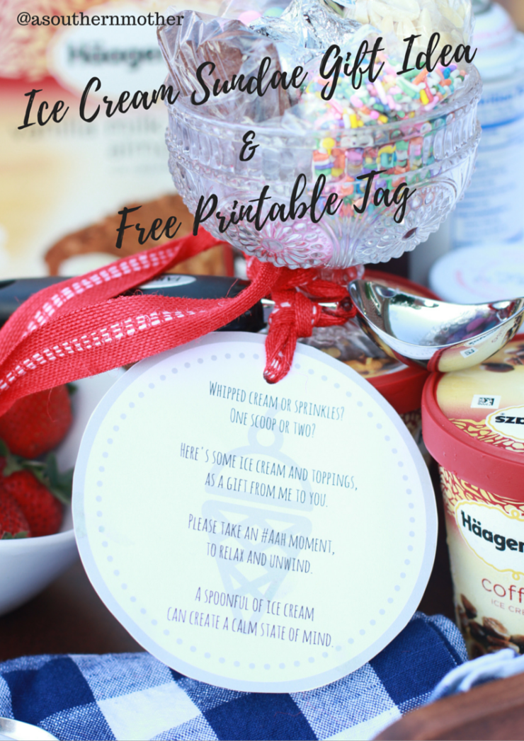 #Aah Moment Gift Basket Tutorial & Free Printable Gift Tag