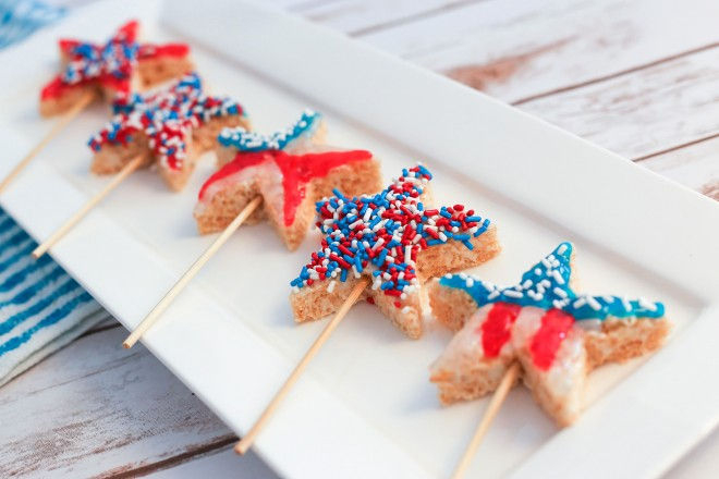 Top 5 Red, White and Blue Desserts