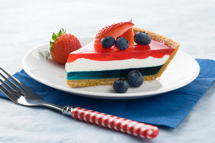 patriotic jello pie