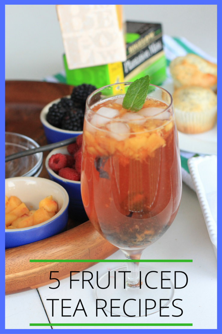 5 fruit iced tea recipes