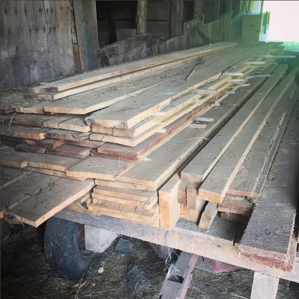 Rough lumber