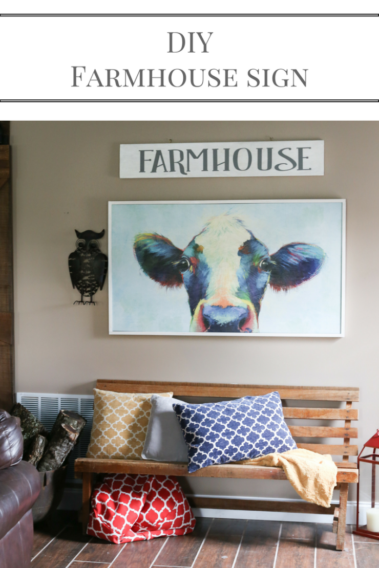 Diy Farmhouse Sign Amp Cricut Supply Giveaway A Southern