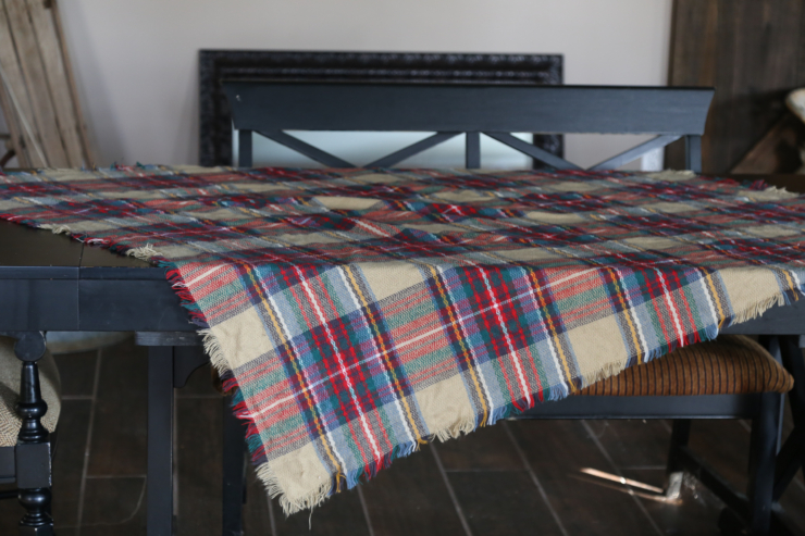 Blanket scarf table runner
