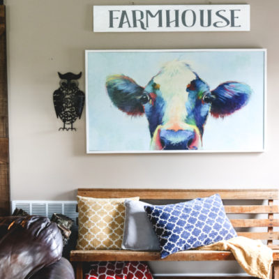 DIY Farmhouse Sign & Cricut Supply Giveaway