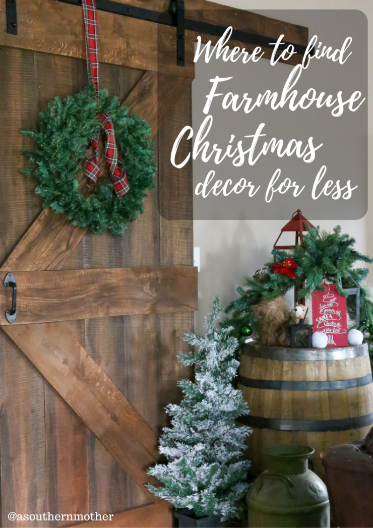 farmhouse christmas decor - Farmhouse Christmas Decor