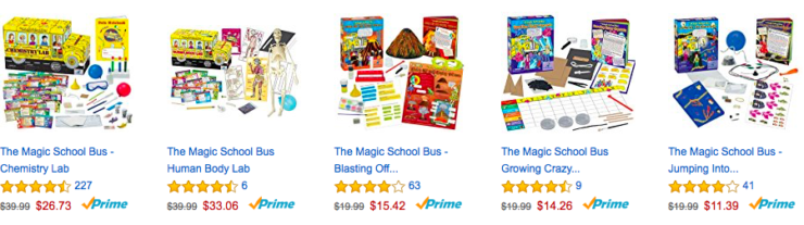 Magic School Bus Kits