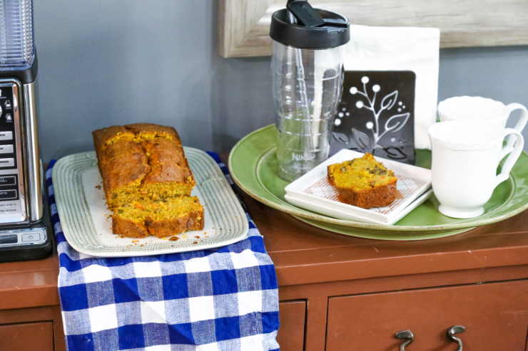 carrot pecan bread recipe