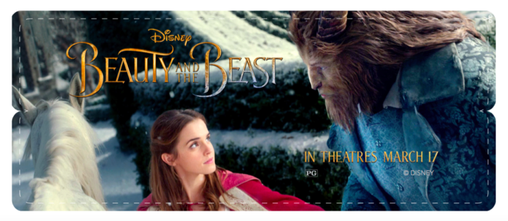 Beauty and the Beast Free Printable Activity Sheets