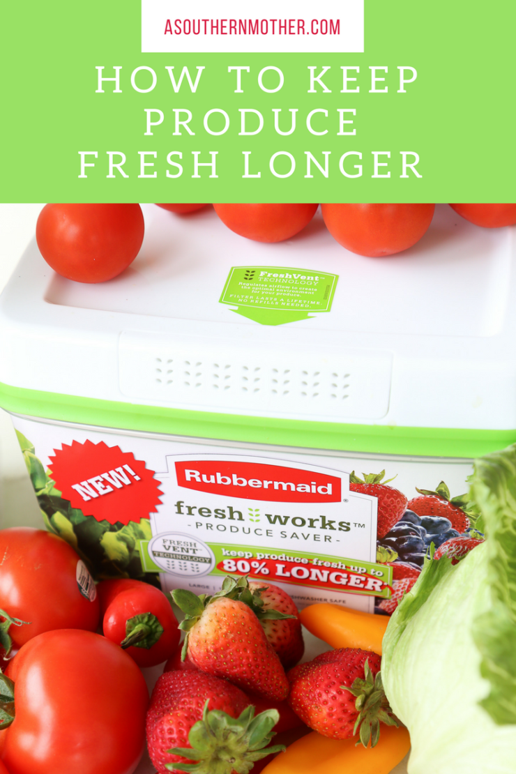 How to keep produce fresh longer