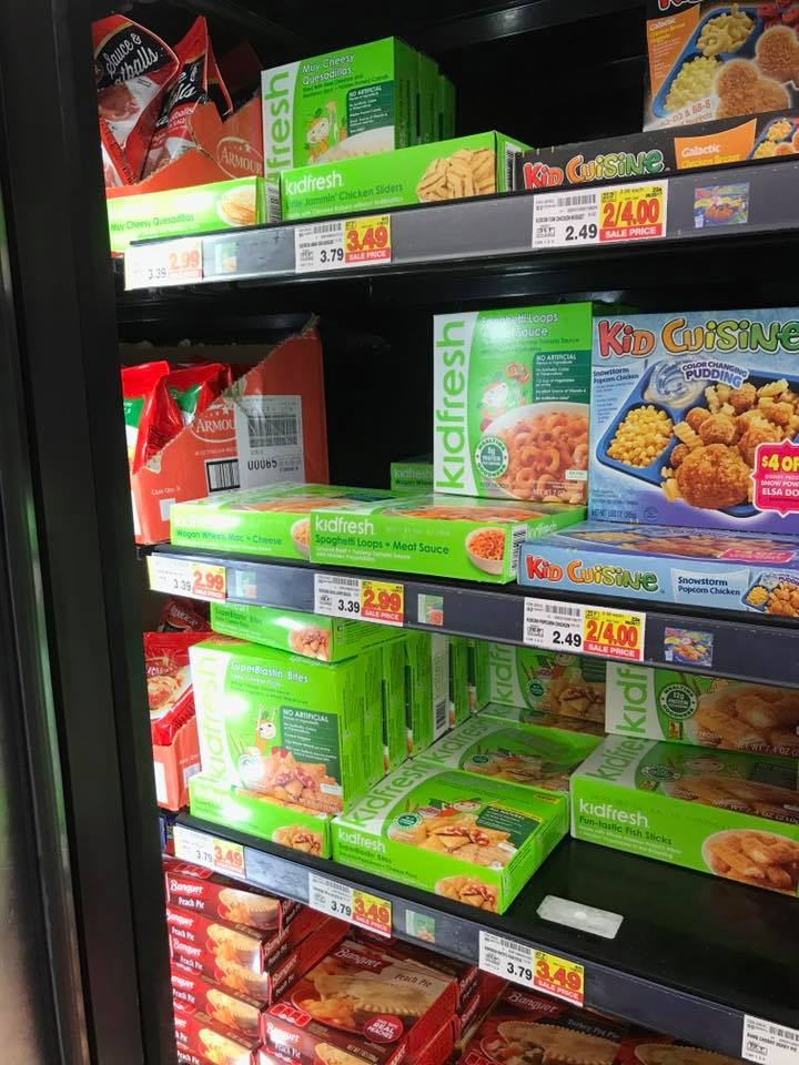 Kidfresh meals at Kroger