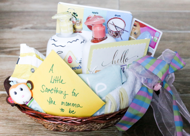 DIY Baby Gift Basket Inspiration